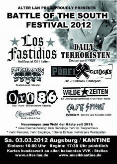 BATTLE OF THE SOUTH – FESTIVAL 2012