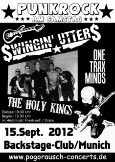 THE HOLY KINGS + ONE TRAX MINDS + SWINGIN' UTTERS