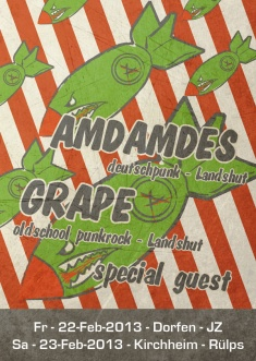 GRAPE + AMDAMDES + KEIN SIGNAL