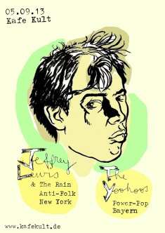 Jeffrey Lewis & The Rain + The Yoohoos