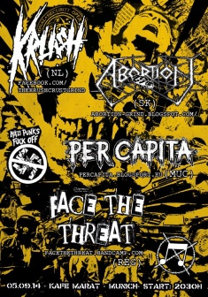 Kru$h + Face The Threat + Per Capita + Abortion