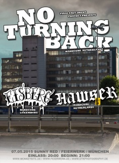 NO TURNING BACK + EISBERG +  HAWSER