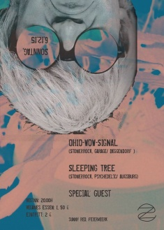 ZOMBIE SESSIONS: Ohio Wow Signal + Sleeping Tree + Tortuga + 5 Aces