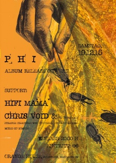P H I + HIFI MAMA + CHRIS VOID & THE INCREDIBLY STRANGE CREATURES WHO STOPPED LIVING AND BECAME MIXED-UP ZOMBIES