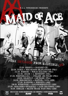 Maid of Ace + Sonic Abuse @ Glockenbachwerkstatt