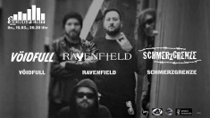 Ravenfield, Schmerzgrenze, The Heisenberghs @ 8Below Bergfest